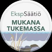 Etelä-Karjalan Säästöpankkisäätiön tunnus Mukana tukemassa
